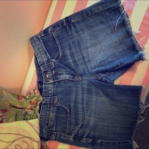 J. Crew Jean Shorts Size 2